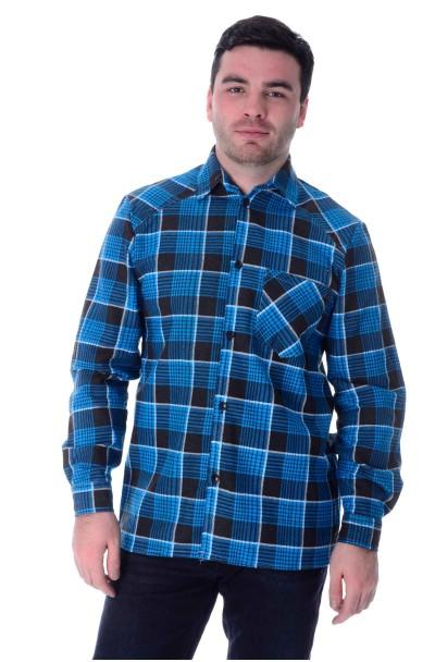 Рубашка мужская, фланель,