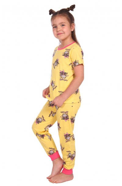 """Пижама """"Милаша"""" желтый"""