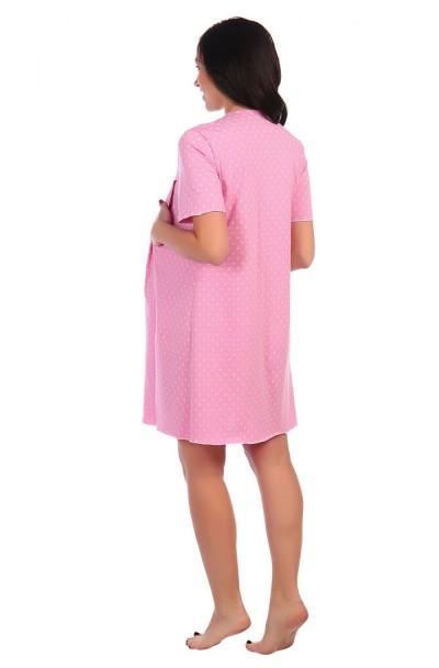 """Сорочка """"Мама"""" розовый"""