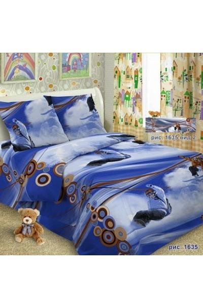 Детское постельное белье из поплина ИвановоП.Россия д-001