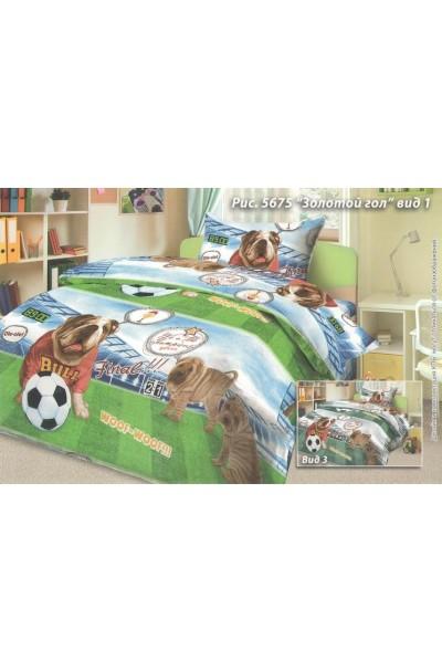 Детское постельное белье из бязи пл 125БГ-085(д)