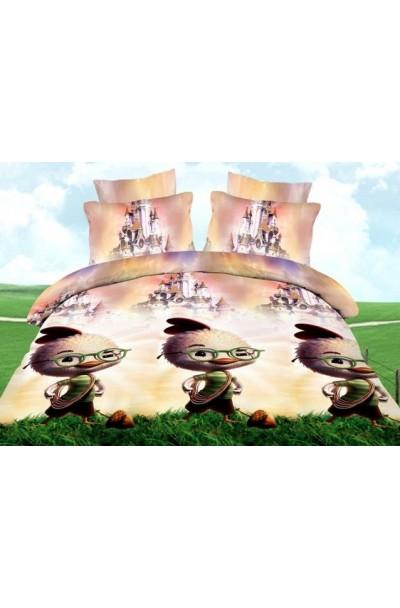 Постельное белье из поплина (Детская серия)П-015Д ( Цыпленок )