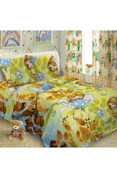 Детское постельное белье из поплина ИвановоП.Россия д-030