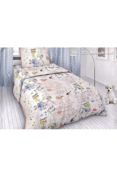 Детское постельное белье из бязи пл 125БГ-558 (д)