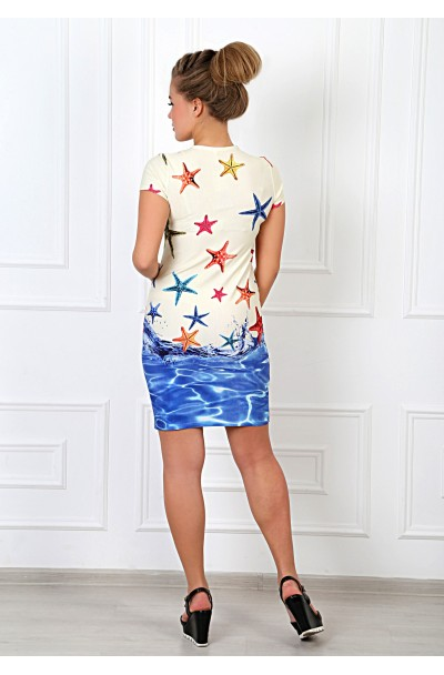 Платье Акватория-1 Вискоза диджитал