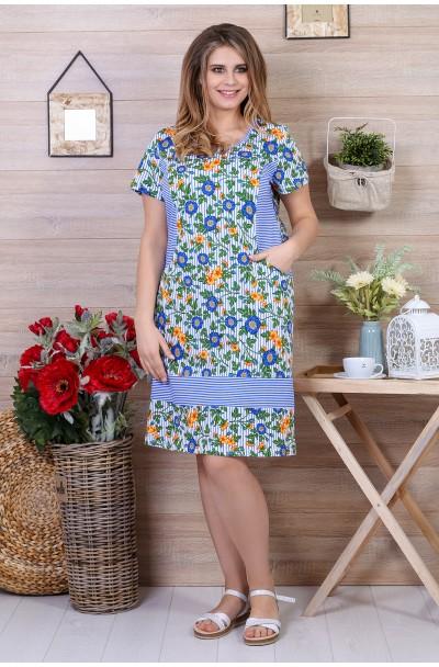 Платье Белорусочка-1 Кулирка
