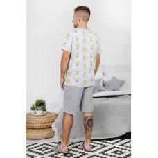 Пижама мужская  Лампочки-6